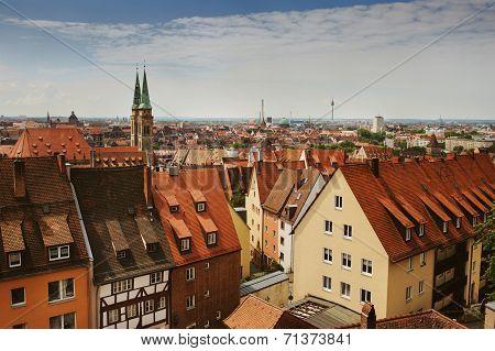 Skyline Of Nuremberg, Germany