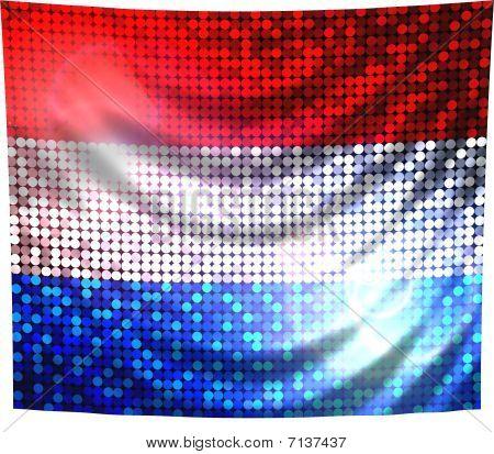 Sparkling Flag Of Netherlands