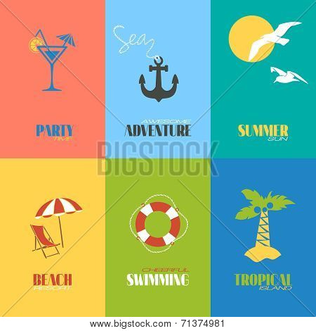 Summer time posters