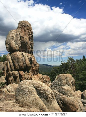 Gray's Peak boulders