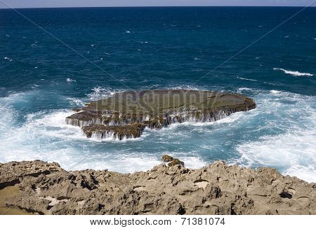 Sea Shore Of Arecibo