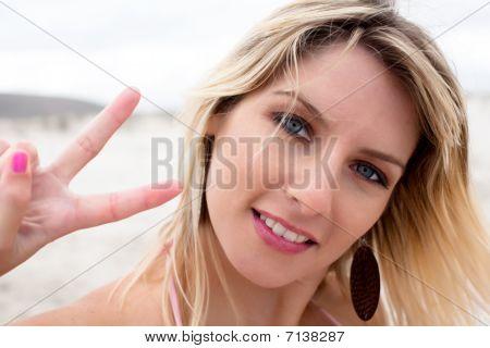 Peace Lady.