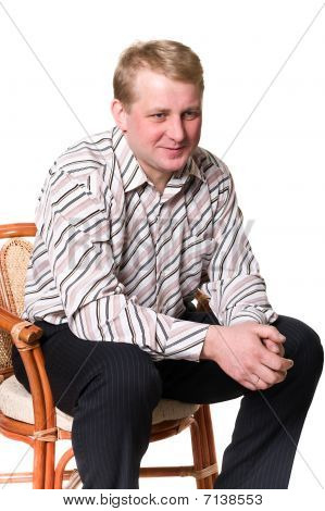 Portrait Of Middle Age Man