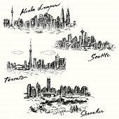 stock photo of kuala lumpur skyline  - Toronto - JPG