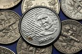 image of brazilian money  - Coins of Brazil - JPG