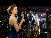 stock photo of sparkling wine  - party - JPG