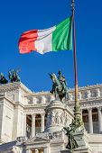 picture of emanuele  - Monument of Vittorio Emanuele II in Rome - JPG