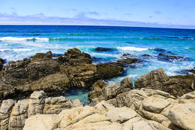 foto of incredible  - Incredibly beautiful seascape - JPG