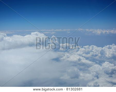clouds with wide view