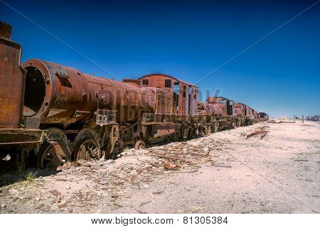 Locomotive Graveyard