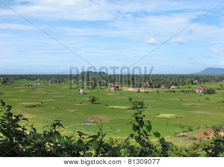 Rural Scenery In Kampot