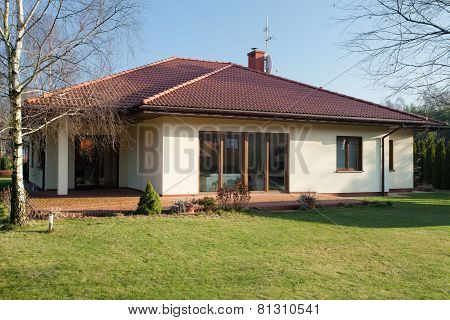 Bungalow In The Autumn