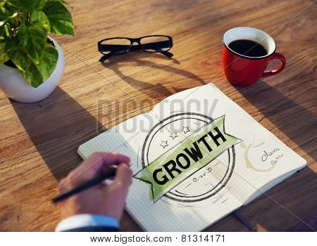 Diverse Businessman Brainstorming About Growth