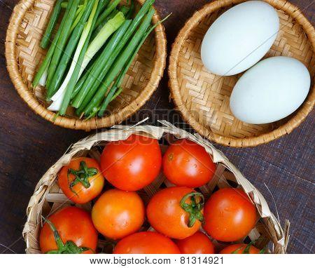Vietnamese Food, Tomato Saute Egg