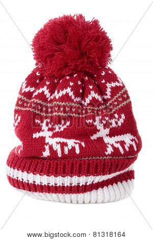 Winter bobble or ski hat