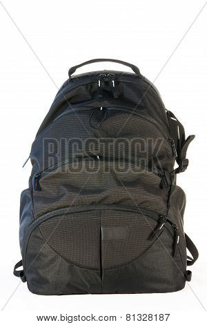 Black Backpack Standing