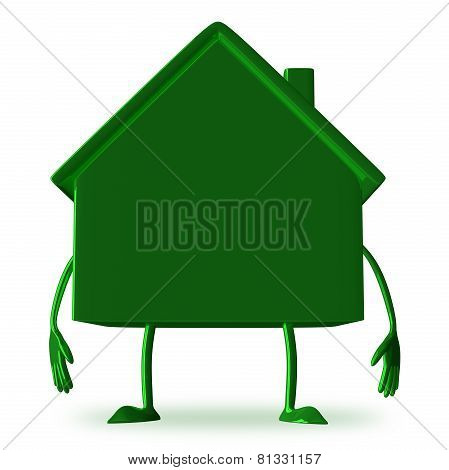 green Cottage Character