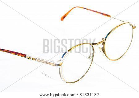 Vintage Round Eyeglasses