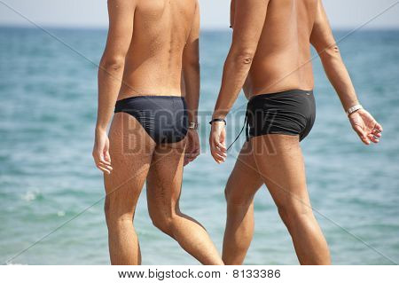 Two Men At The Beach