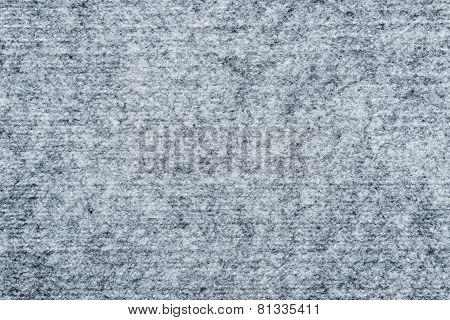 Abstract Texture Of Silvery Felt