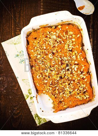 Parmentier With Pumpkin And Forcemeat