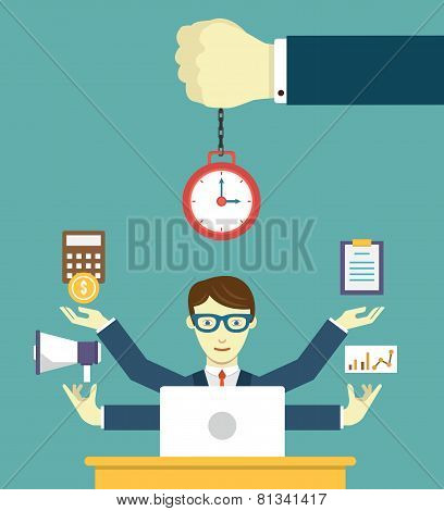 Time Management - Pledge Of Success. Business Planning And Results