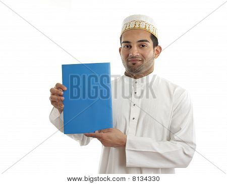 Middle Eastern Arab Businessman