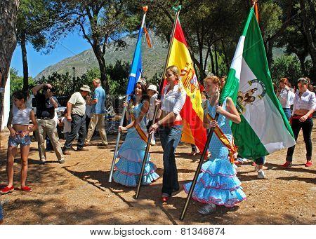 Carnival queens, Marbella.