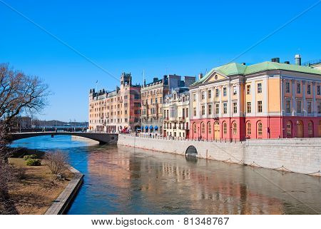 Stockholm. Sweden. State institutions