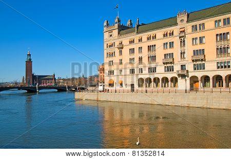 Stockholm. Sweden. Rosenbad
