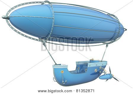 Steam Punk Dirigible