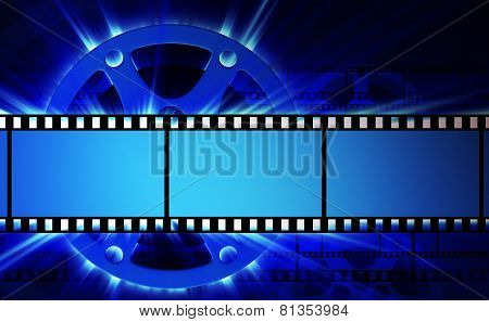 Films And Film Reel
