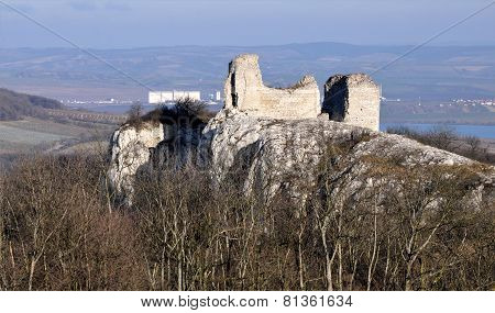 Ruined Castle, Czech Republic, Europe