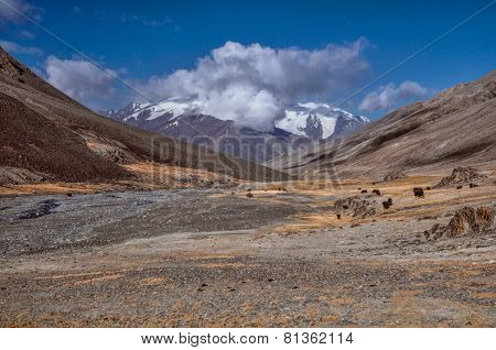 Valley In Tajikistan