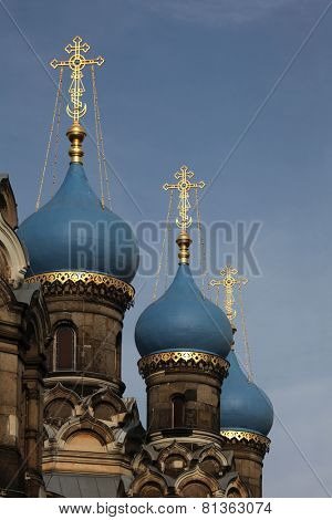 Russian Orthodox Church dedicated to Saint Simeon in Dresden, Germany.