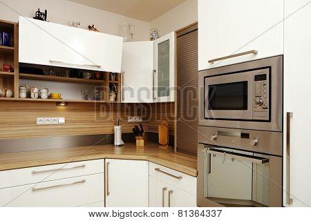 Corner Of Moder Kitchen