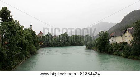 Lech river - Fussen
