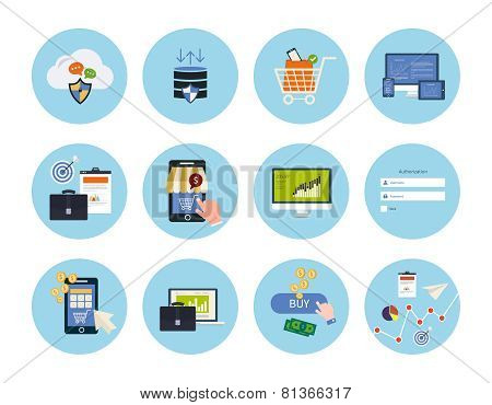 Online shopping elements