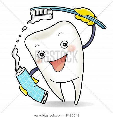 Dente saudável