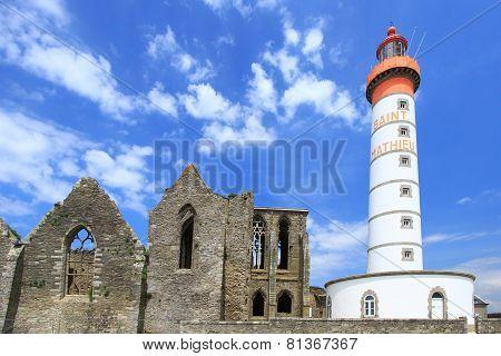 Lighthouse Saint Mathieu, France