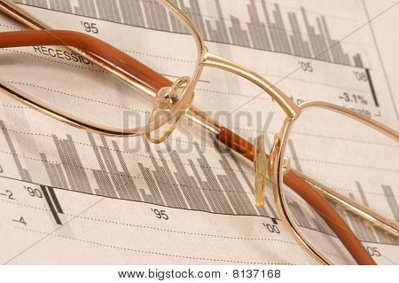 Glasses on diagrams