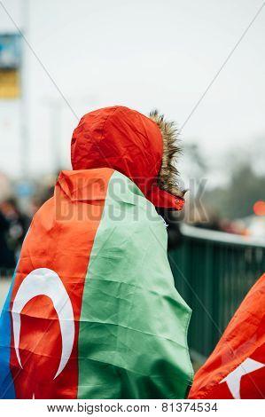 Armenian And Turkey Diaspora Protesting