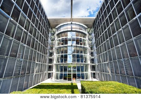 Berlin Bundestag Chancellery