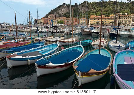 City Of Nice - Colorful Boats