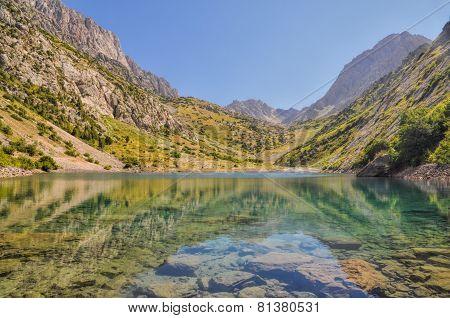Tien-shan Lake