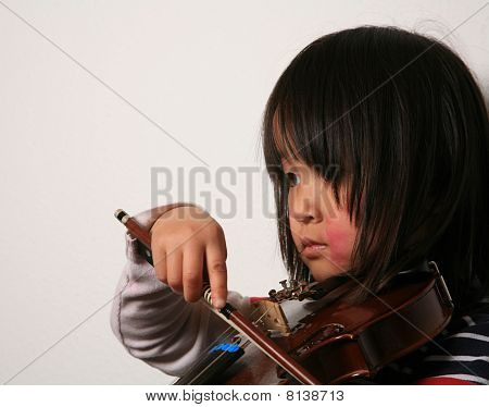 Violin Child