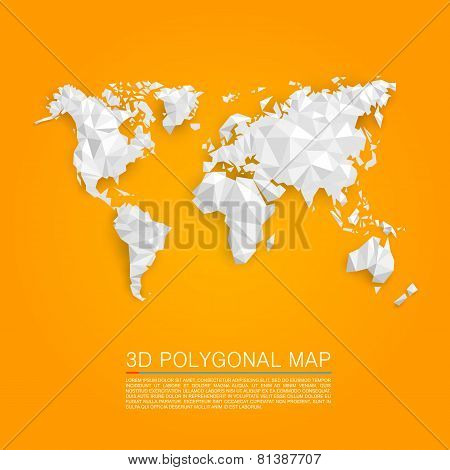 Map 3d polygon