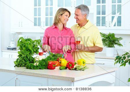 Seniors At Kitchen