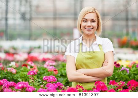 Female Florist.