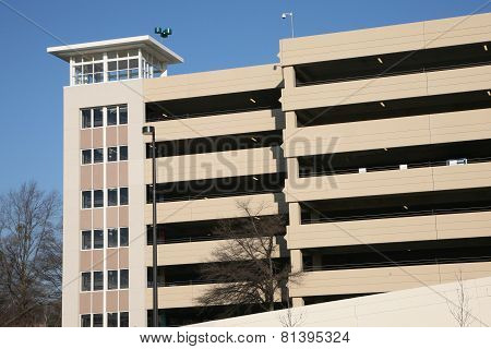 Multi level parking deck